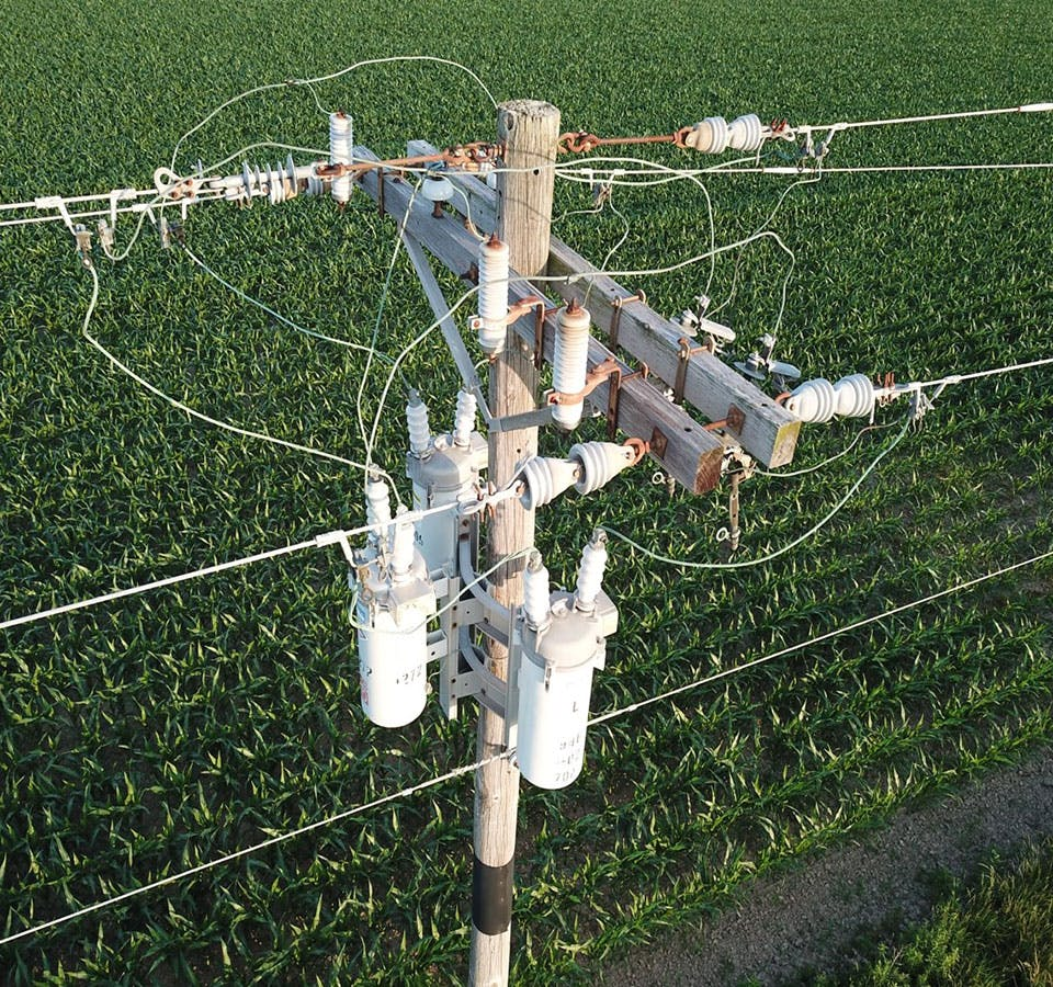 Utility Drone Inspection Services