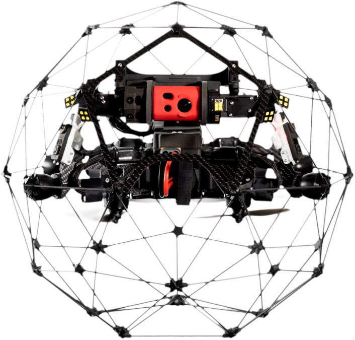Elios Drone for Confined Spaces
